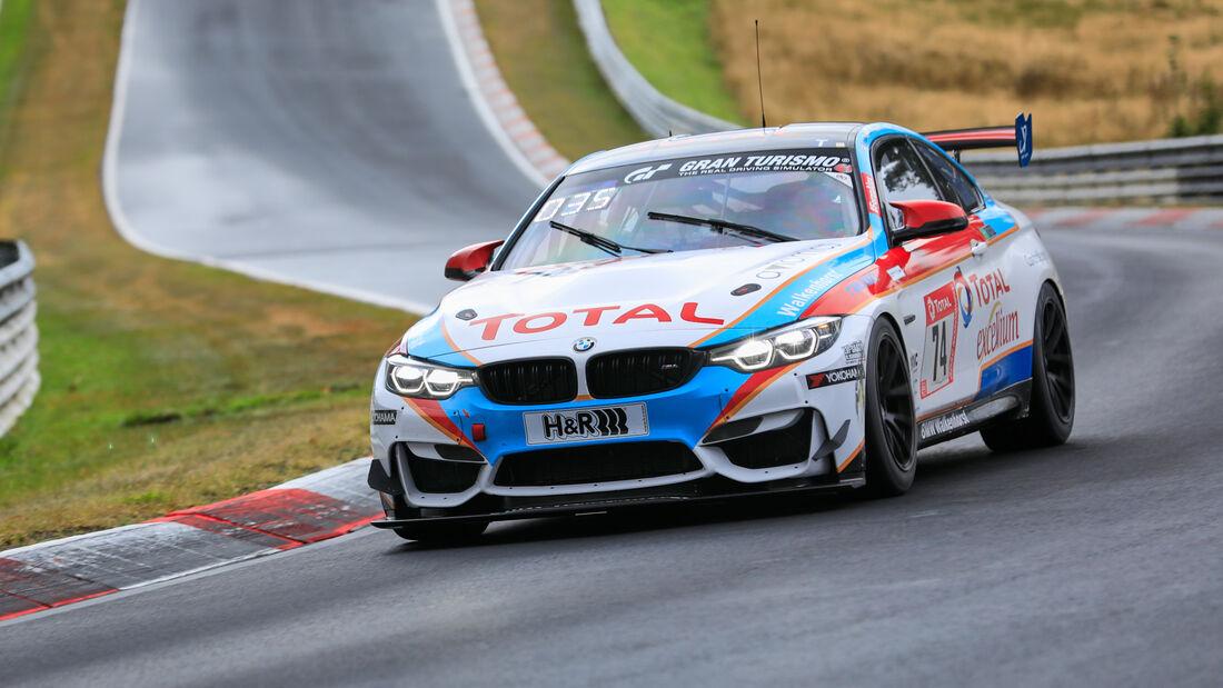 BMW M4 GT4 - Walkenhorst Motorsport - Startnummer #74 - Klasse: SP 8T - 24h-Rennen - Nürburgring - Nordschleife - 24. bis 27. September 2020