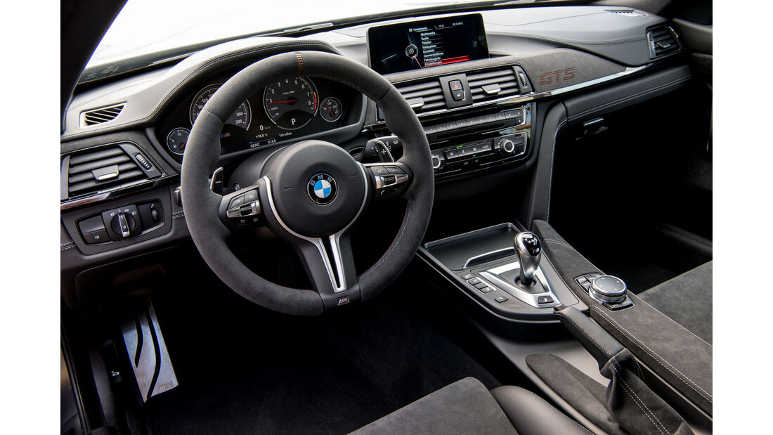 BMW M4 GTS, Fahrbericht, 04/2016, Interieur