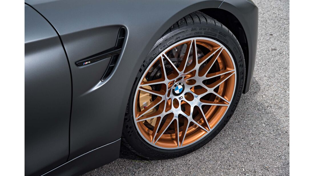 BMW M4 GTS, Fahrbericht, 04/2016, Styling 666 M