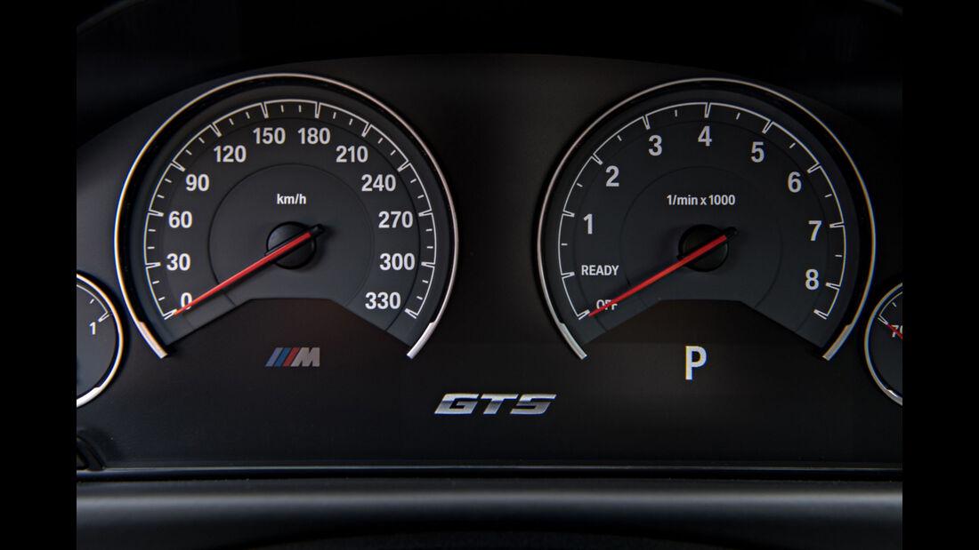 BMW M4 GTS, Fahrbericht, 04/2016, Tacho, Tachometer
