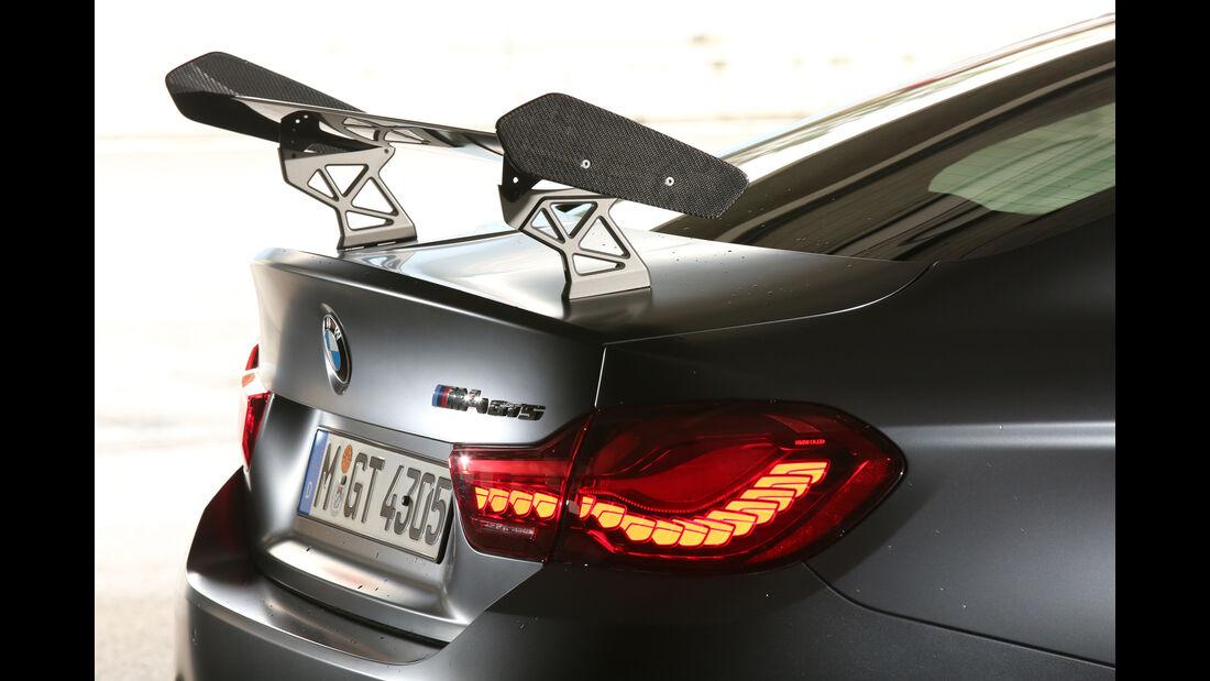 BMW M4 GTS, Heckspoiler