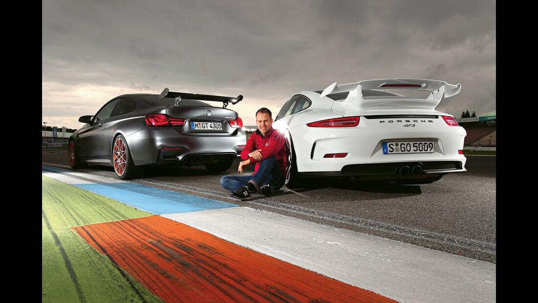 BMW M4 GTS, Porsche 911 GT3, Christian Gebhardt
