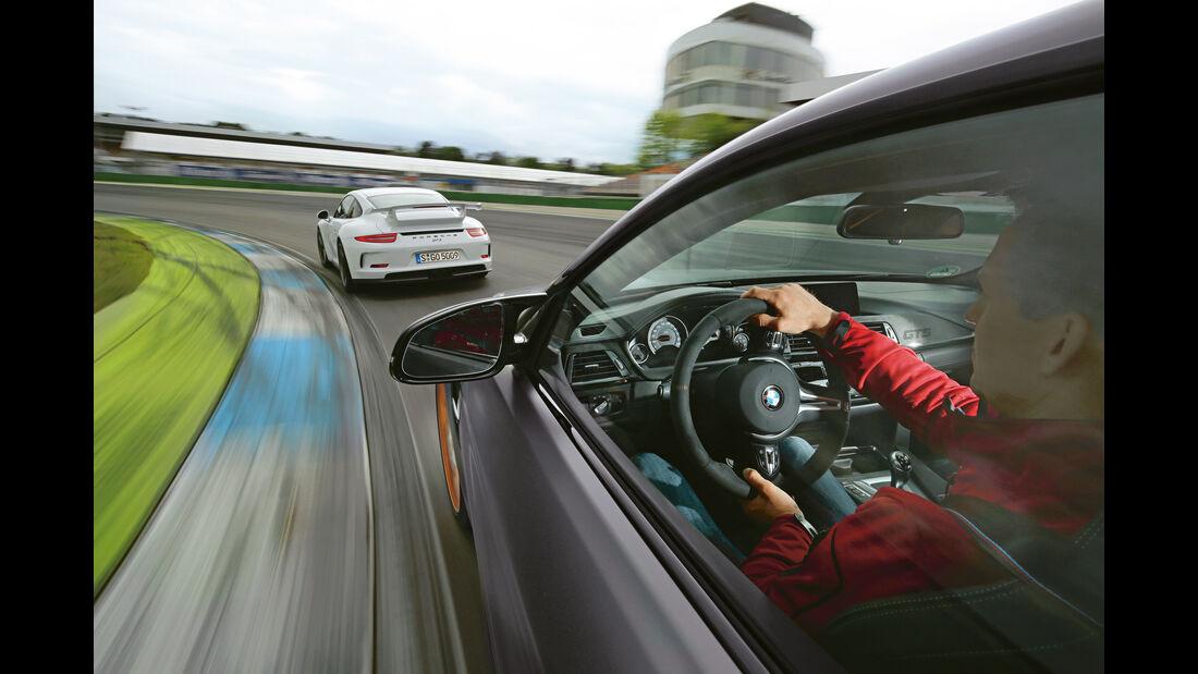 BMW M4 GTS, Porsche 911 GT3, Hockenheim