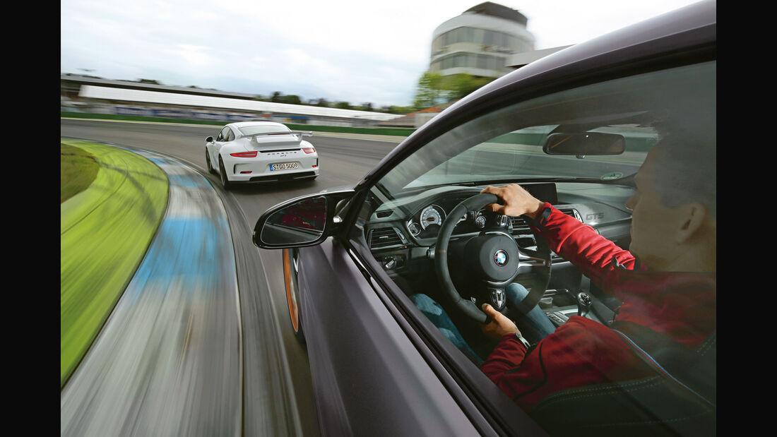 BMW M4 GTS - Porsche 911 GT3 - Sportwagen - sport auto 7/2016