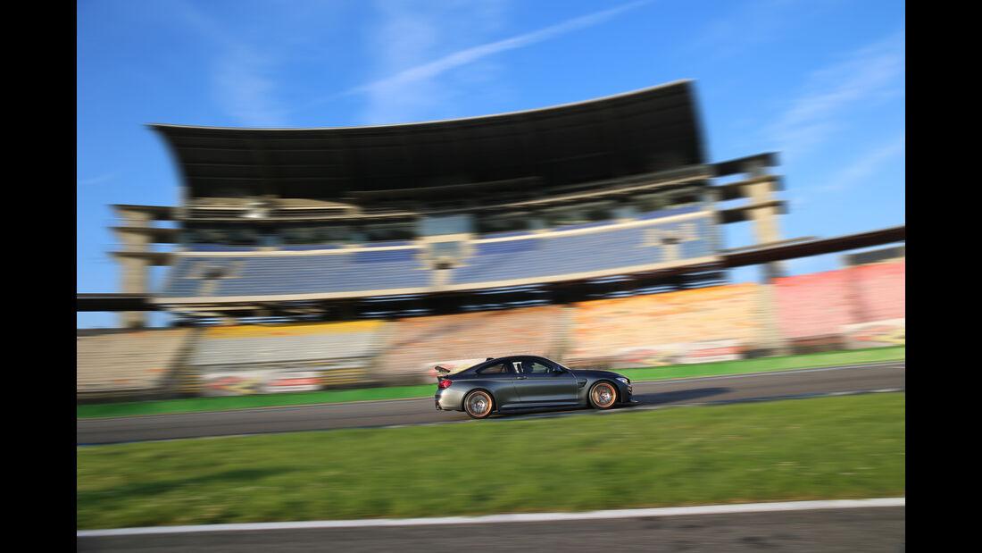 BMW M4 GTS, Seitenansicht