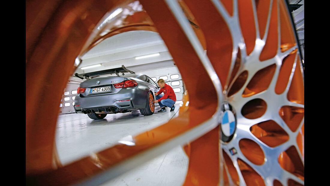 BMW M4 GTS, Speichen
