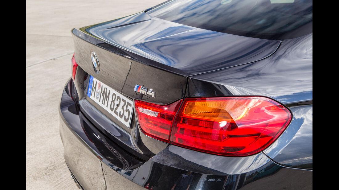 BMW M4, Heck