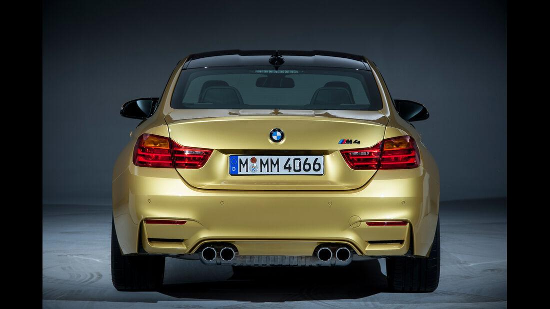 BMW M4, Heckansicht