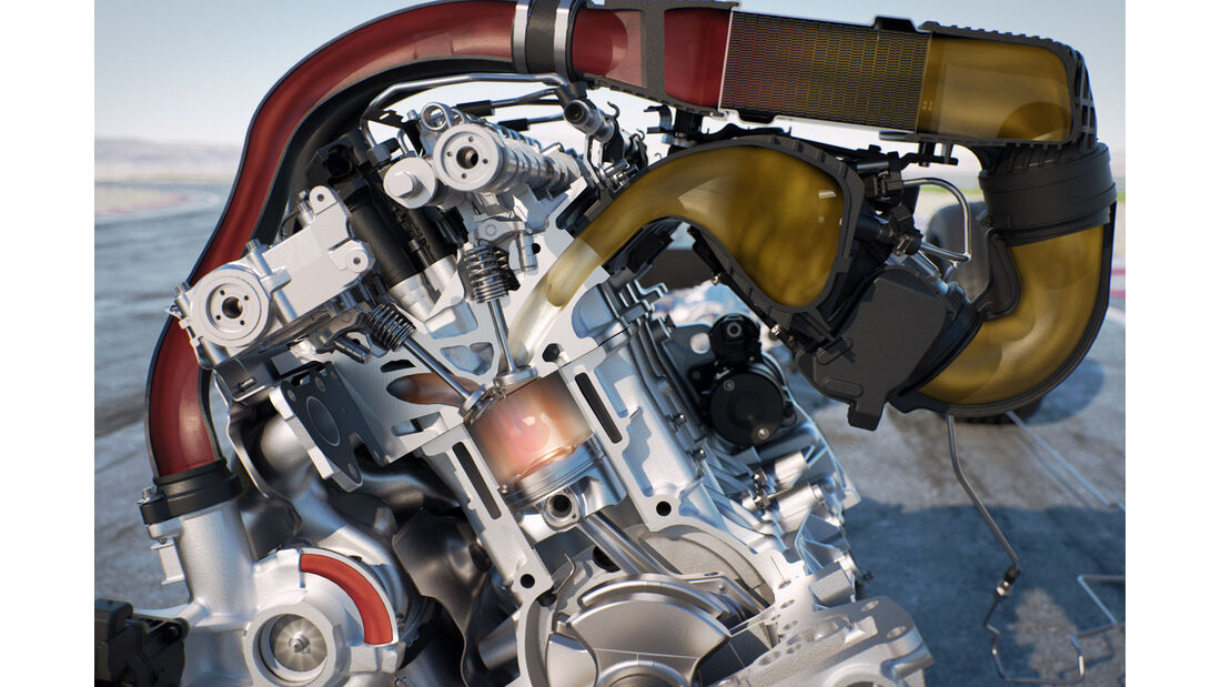 BMW M4 MotoGP Safety Car, Sportwagen, Coupé, Technik, Turbomotor, Wassereinspritzung, MotoGP, 02/15