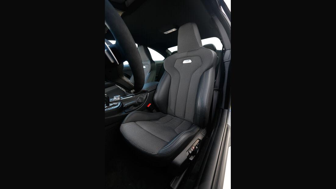 BMW M4 Performance, Fahrersitz