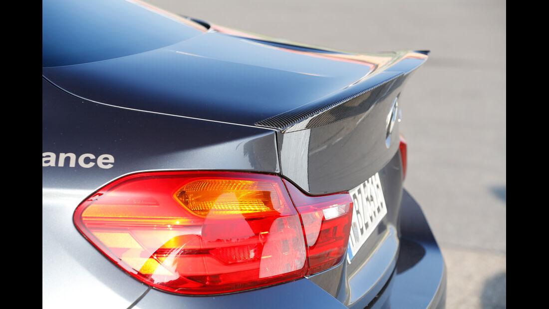 BMW M4 Performance, Heckspoiler