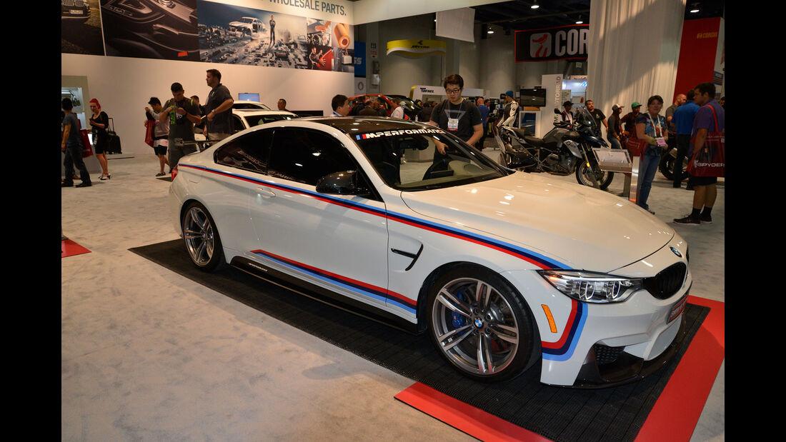 BMW M4 Performance Parts - SEMA 2015 - Las Vegas