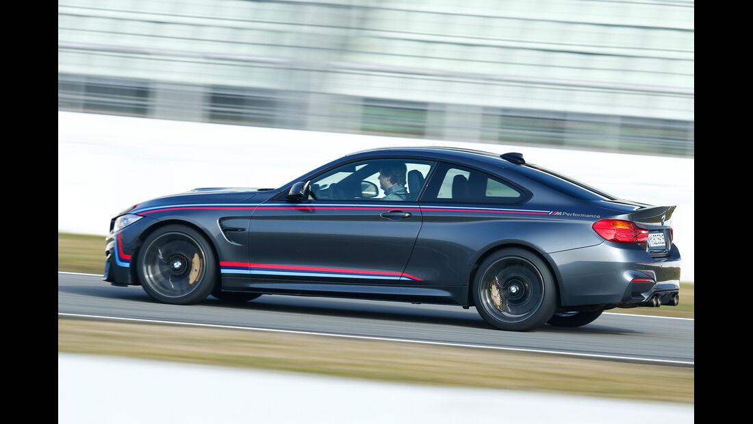 BMW M4 Performance, Seitenansicht