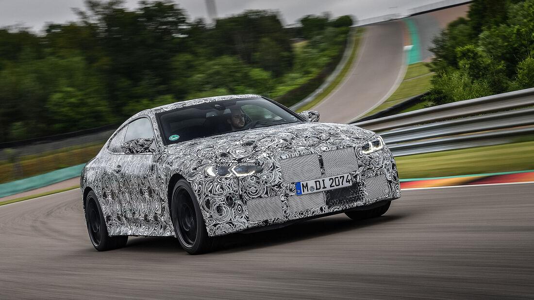 BMW M4 Prototyp Erlkönig