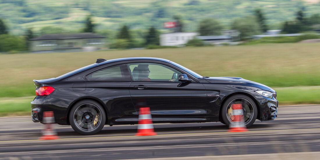 BMW M4, Seitenansicht