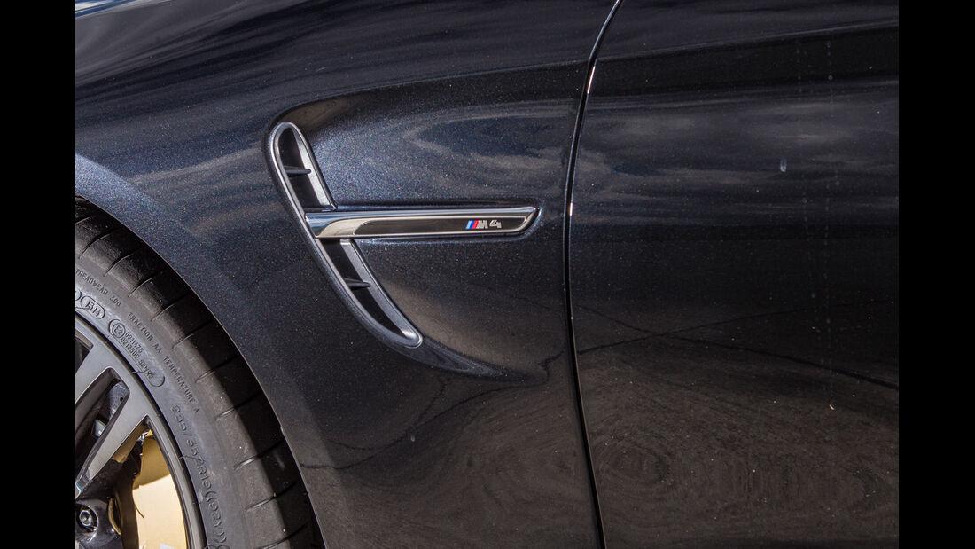BMW M4, Zierleiste