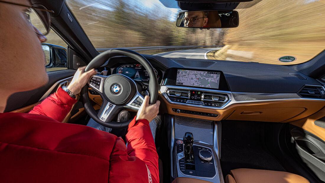 BMW M440i Coupé xDRIVE, Interieur