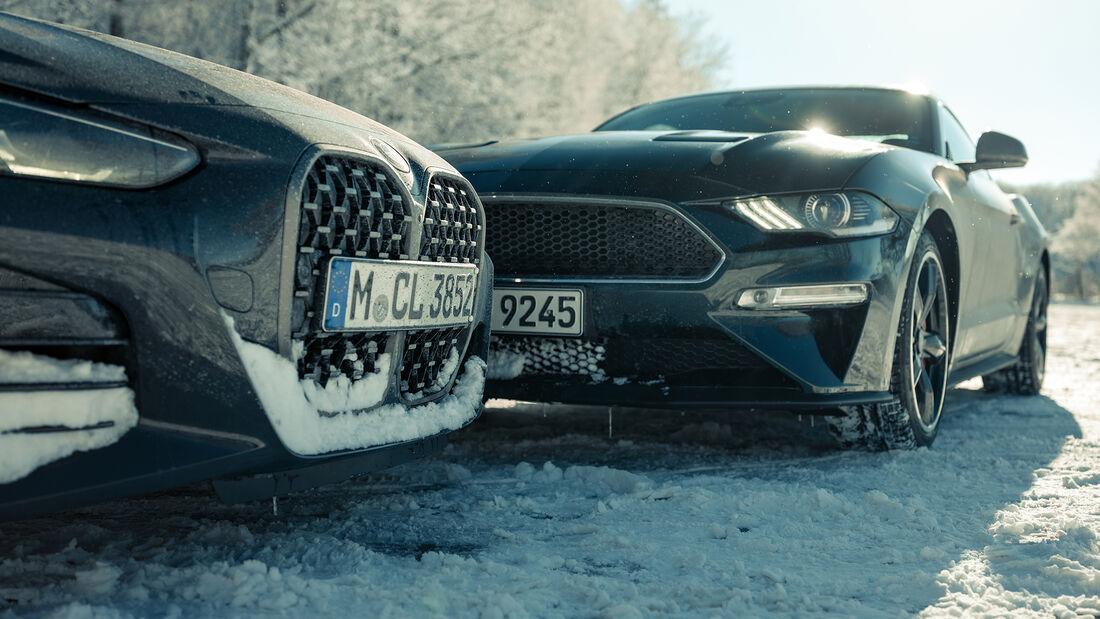 BMW M440i xDrive, Ford Mustang Bullitt, Exterieur