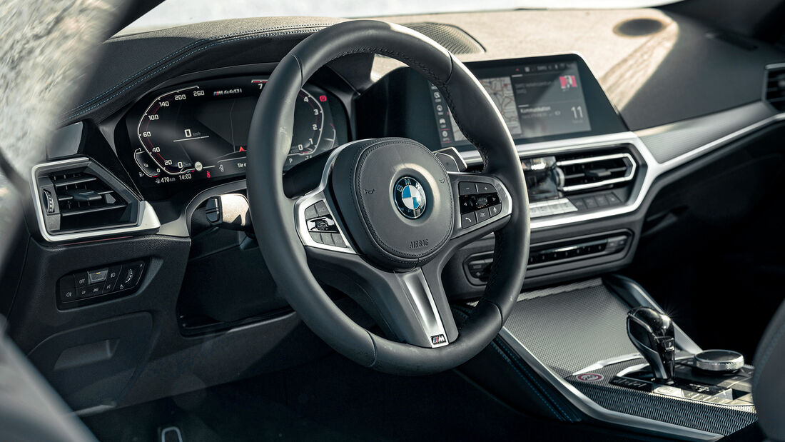 BMW M440i xDrive, Interieur