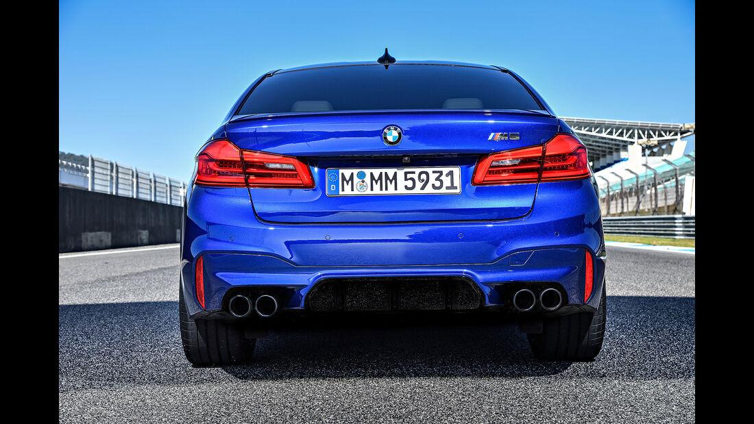 BMW M5 (2018) Fahrbericht Estoril