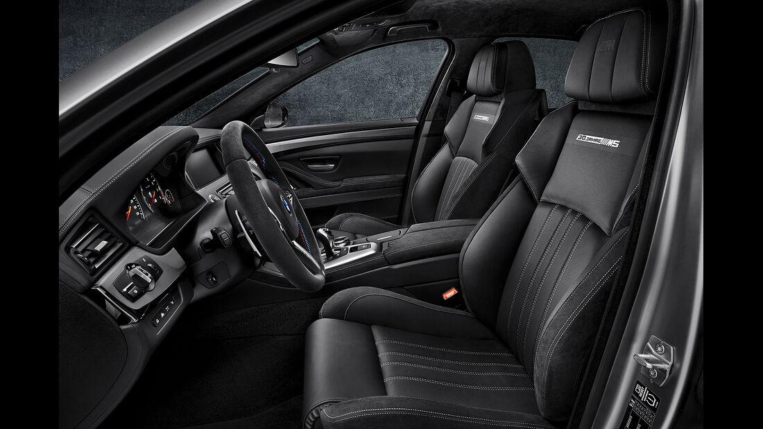 BMW M5 30 Jahre Sondermodell Sperrfrist 7.5.2014 00.00 Uhr