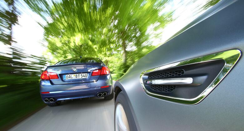 BMW M5, BMW Alpina B5 Biturbo, Heckansicht