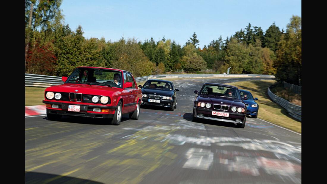 BMW M5, Baujahre 1985 bis 2004