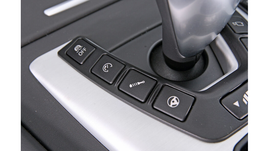BMW M5, Bedienelemente
