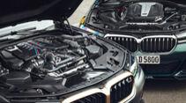 BMW M5 CS, BMW Alpina D5 S, Motorraum