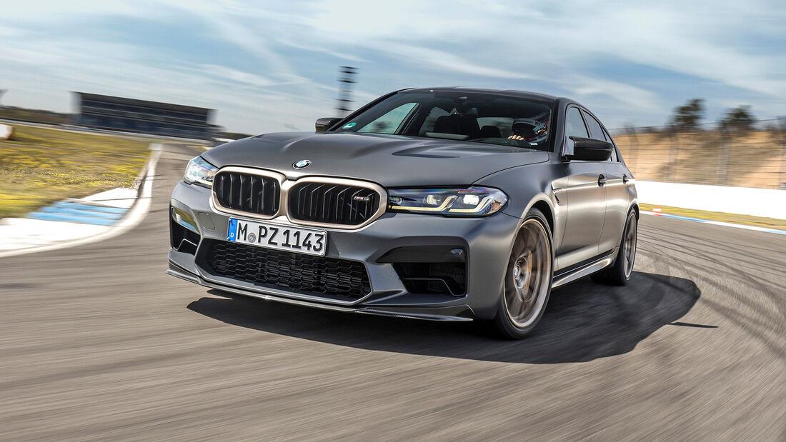 BMW M5 CS, Hockenheimring