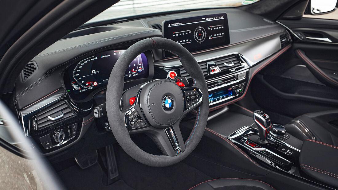 BMW M5 CS, Interieur