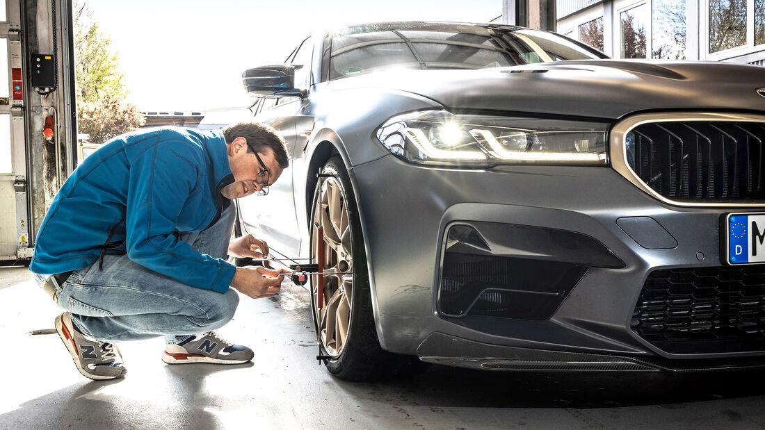 BMW M5 CS, Leistungsmessung
