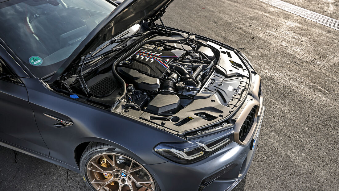 BMW M5 CS, Motor