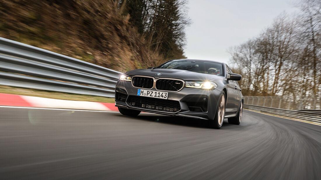 BMW M5 CS, Nordschleife