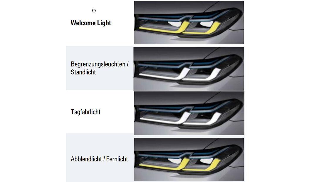 BMW M5 CS Scheinwerfer