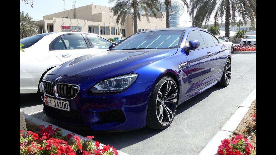 BMW M5 - Carspotting - Abu Dhabi 2017