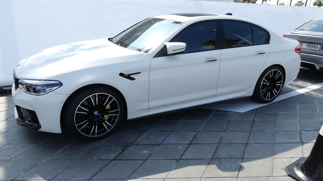 BMW M5 - Carspotting - GP Abu Dhabi 2019
