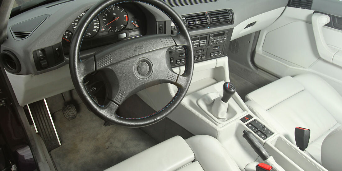 BMW M5, Cockpit, Lenkrad
