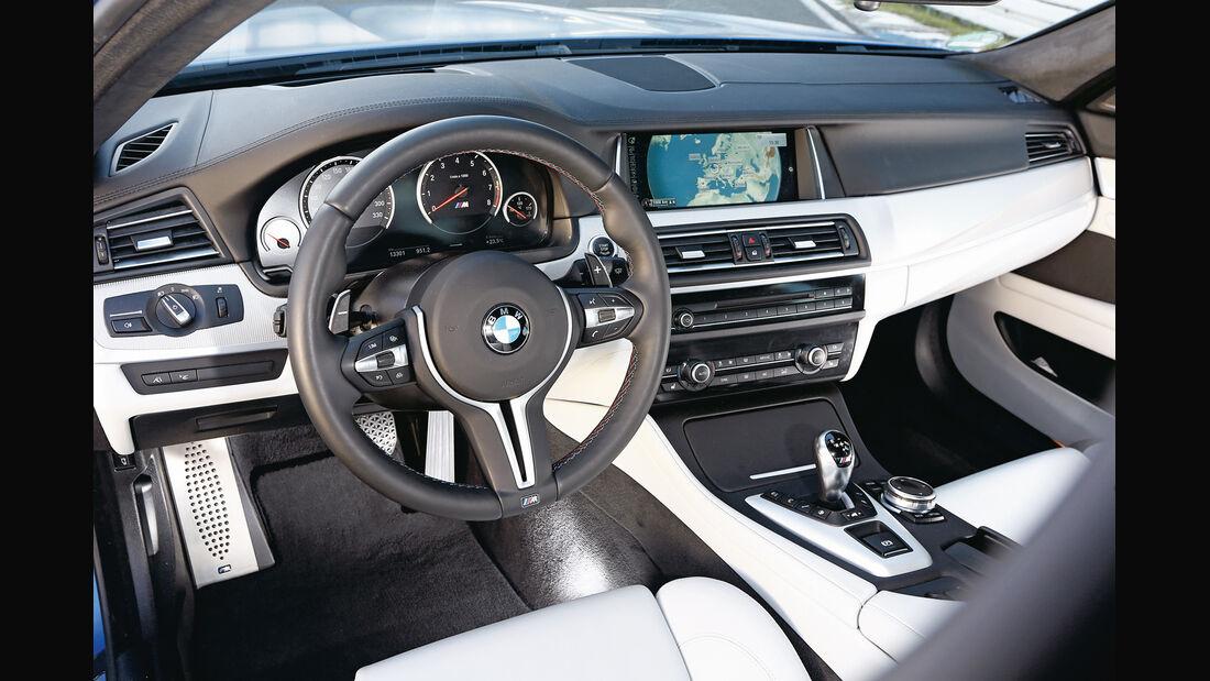 BMW M5 Competition, Cockpit