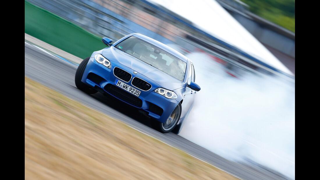 BMW M5 Competition, Driften, Frontansicht