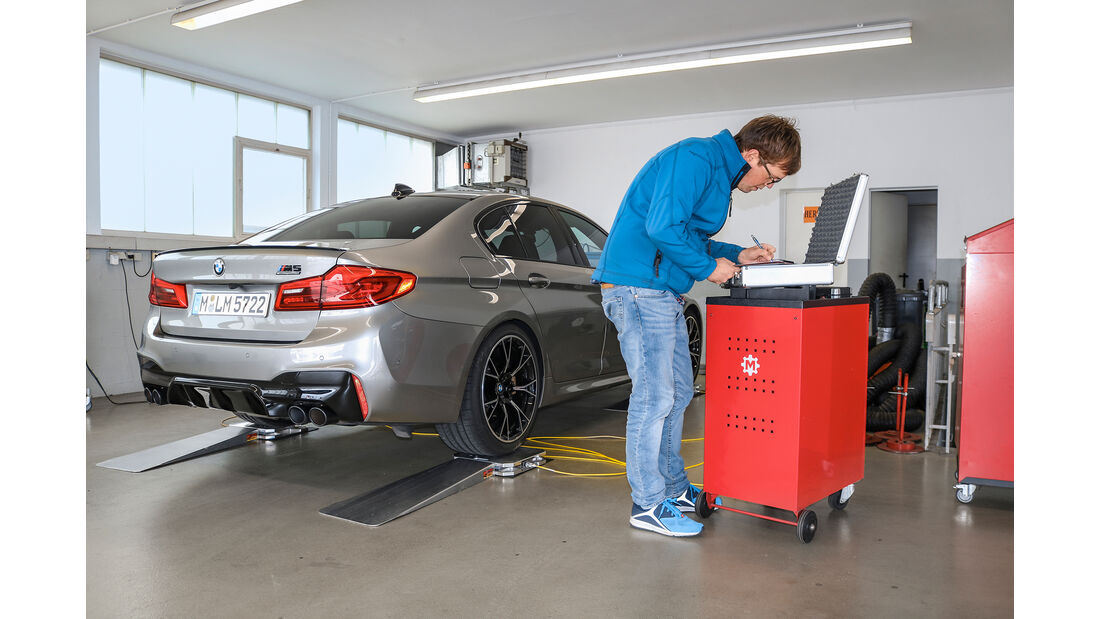 BMW M5 Competition, Exterieur