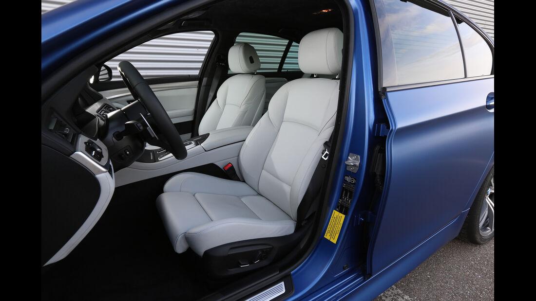 BMW M5 Competition, Fahrersitz
