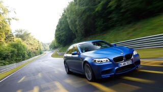BMW M5 Competition, Frontansicht