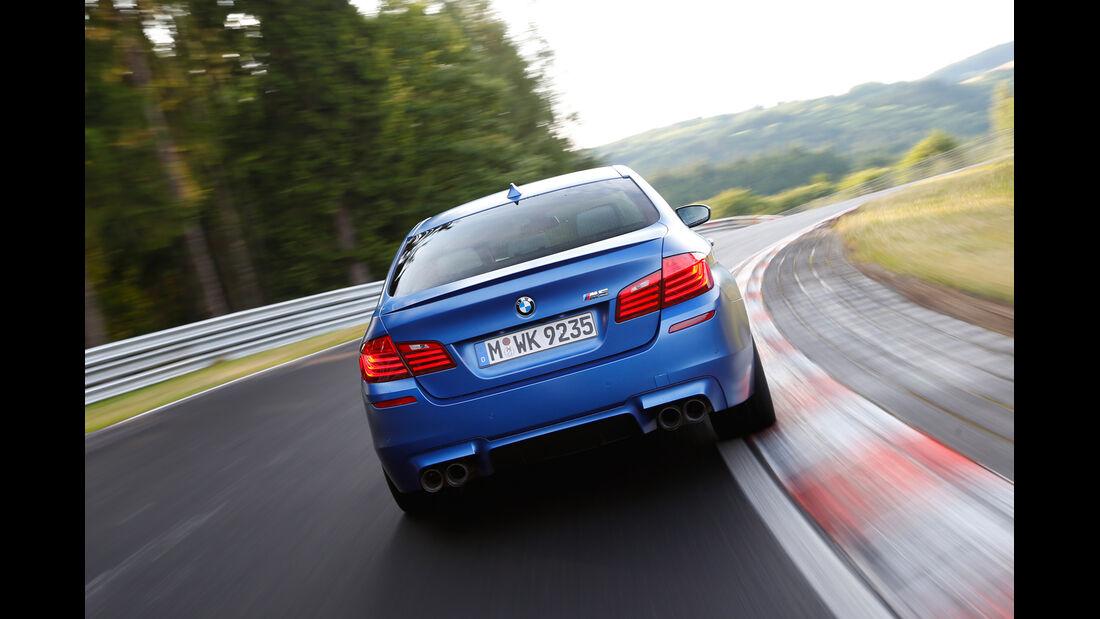 BMW M5 Competition, Heckansicht