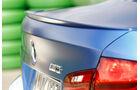 BMW M5 Competition, Heckschürze