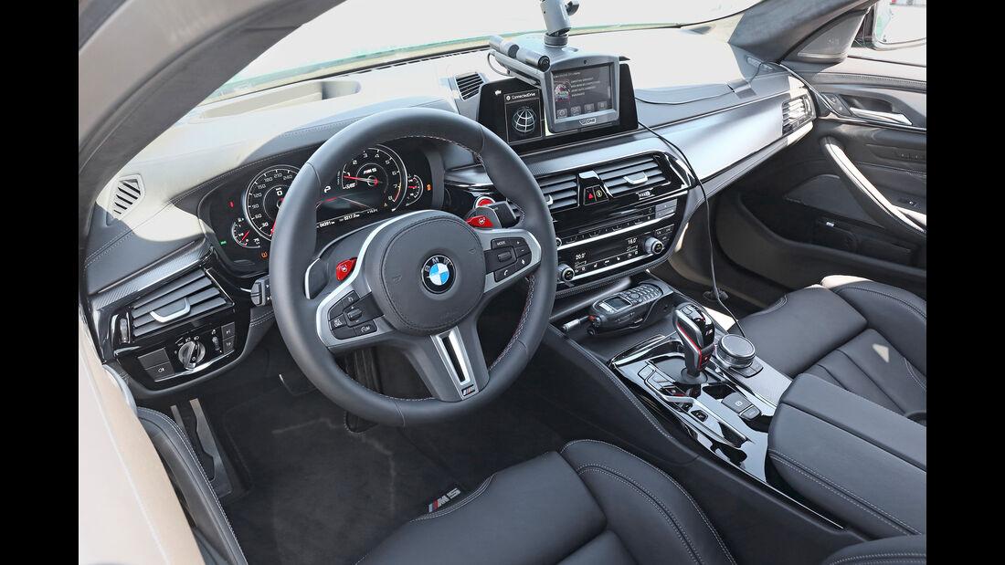 BMW M5 Competition, Interieur