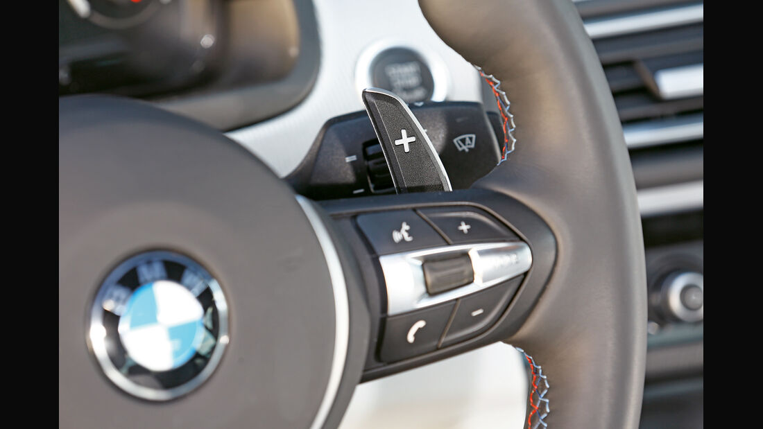 BMW M5 Competition, Lenkrad, Bedienelemente