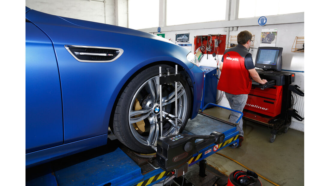 BMW M5 Competition, Prüfstand