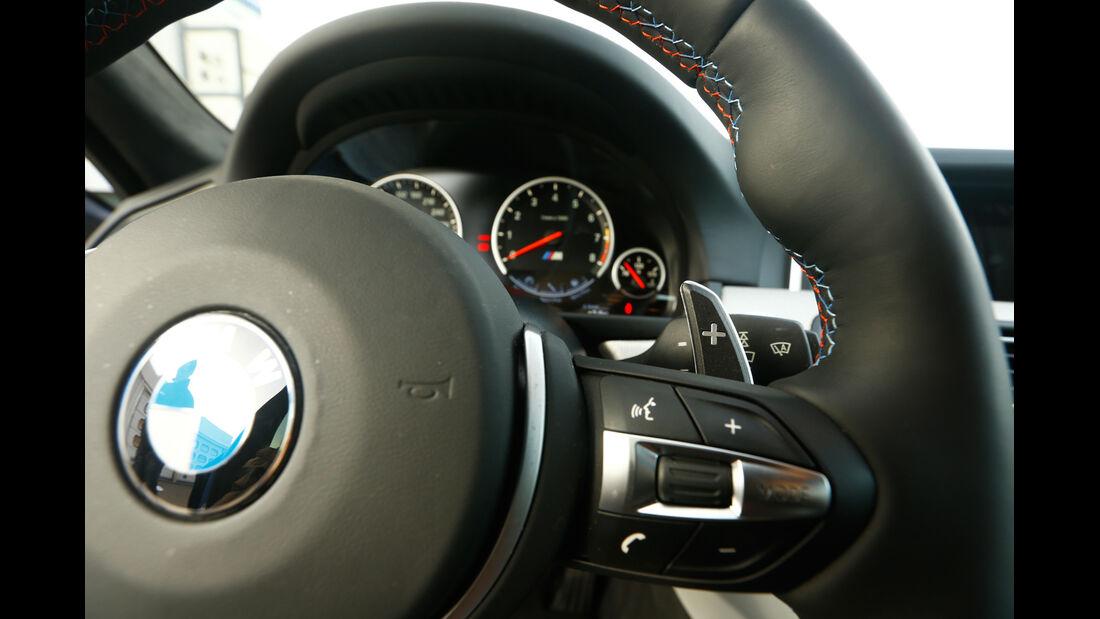 BMW M5 Competition, Rundinstrumente