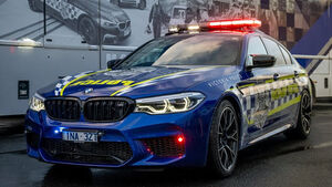 BMW M5 Competition Victoria Police